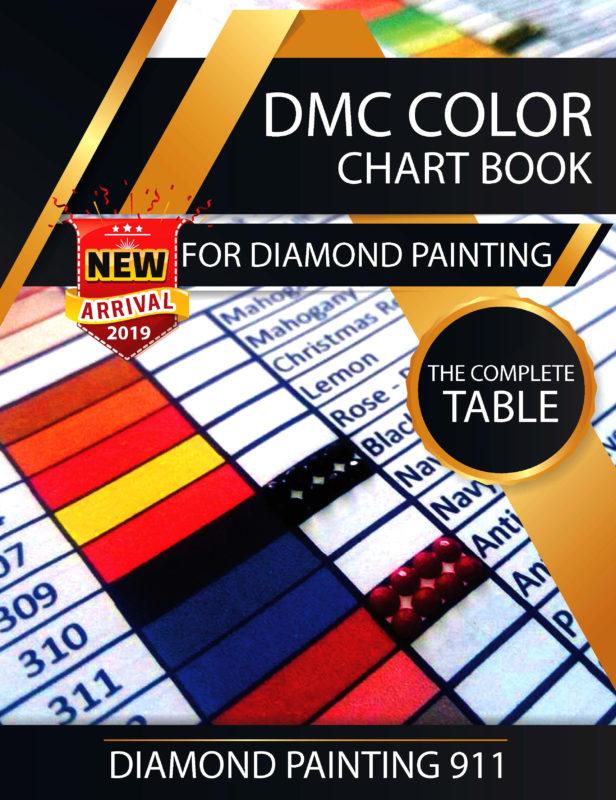 Dmc Color Chart Diamond Painting 911